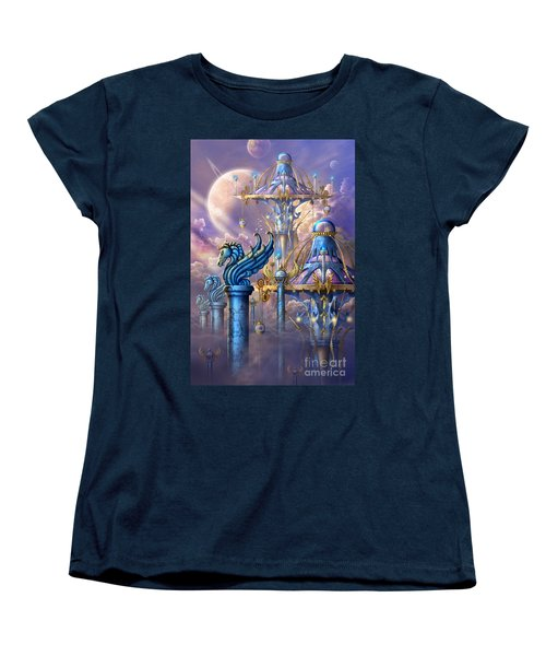 City Of Swords Women's T-Shirt (Standard Cut) by Ciro Marchetti