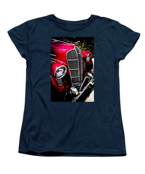 Women's T-Shirt (Standard Cut) featuring the photograph Classic Dodge Brothers Sedan by Joann Copeland-Paul