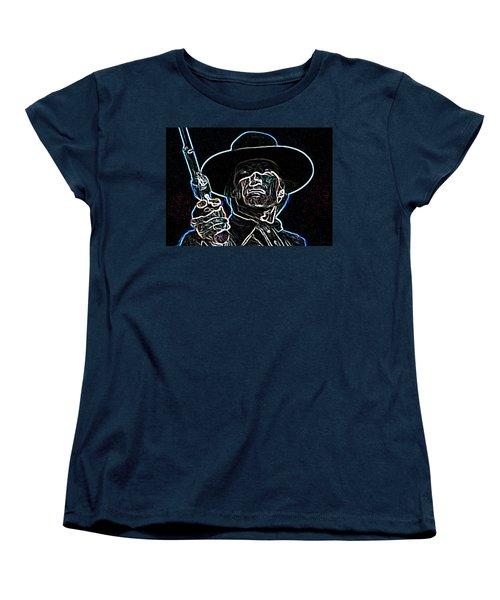 Women's T-Shirt (Standard Cut) featuring the painting Clint by Hartmut Jager