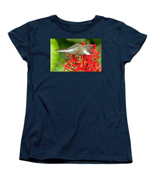 Clipper Butterfly Women's T-Shirt (Standard Cut) by Scott Carruthers