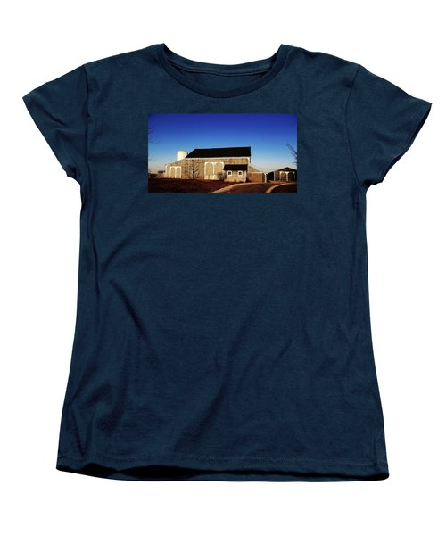Women's T-Shirt (Standard Cut) featuring the photograph Closed For The Day by Tina M Wenger