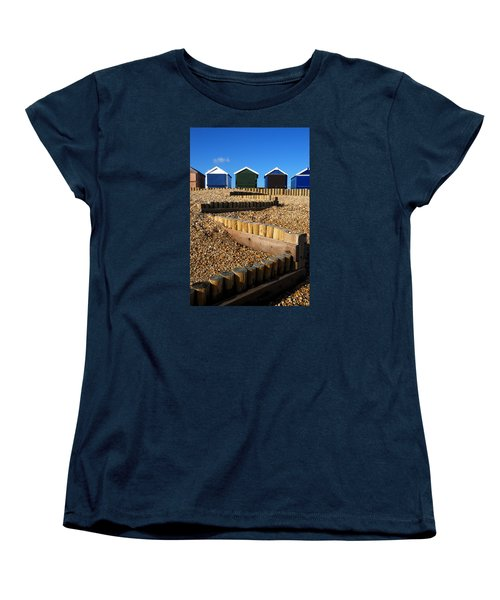 Women's T-Shirt (Standard Cut) featuring the photograph Closed For The Winter by Wendy Wilton