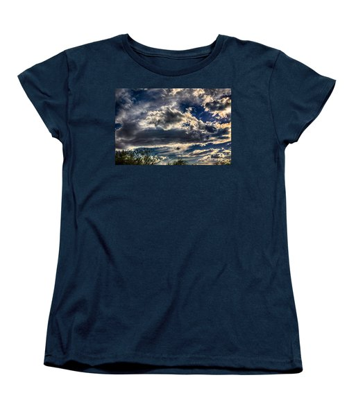 Women's T-Shirt (Standard Cut) featuring the photograph Cloud Drama by Mark Myhaver