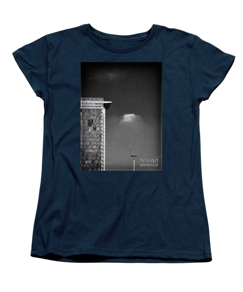 Women's T-Shirt (Standard Cut) featuring the photograph Cloud Lamp Building by Silvia Ganora