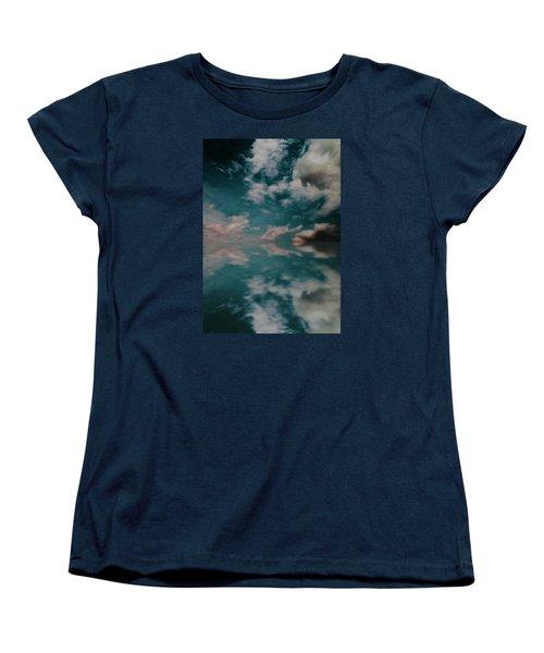 Cloud Reflections Women's T-Shirt (Standard Cut) by John Stuart Webbstock