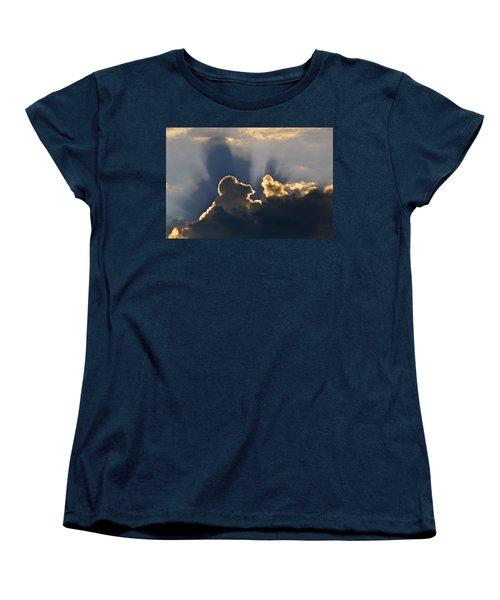 Women's T-Shirt (Standard Cut) featuring the photograph Cloud Shadows by Charlotte Schafer