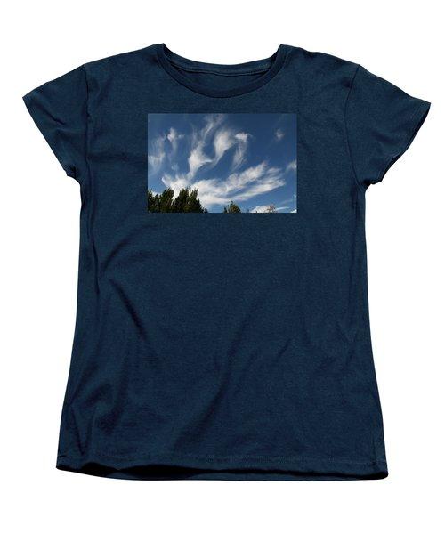 Women's T-Shirt (Standard Cut) featuring the photograph Clouds by David S Reynolds