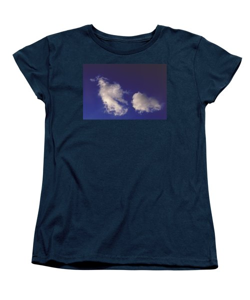 Women's T-Shirt (Standard Cut) featuring the photograph Clouds by Mark Greenberg