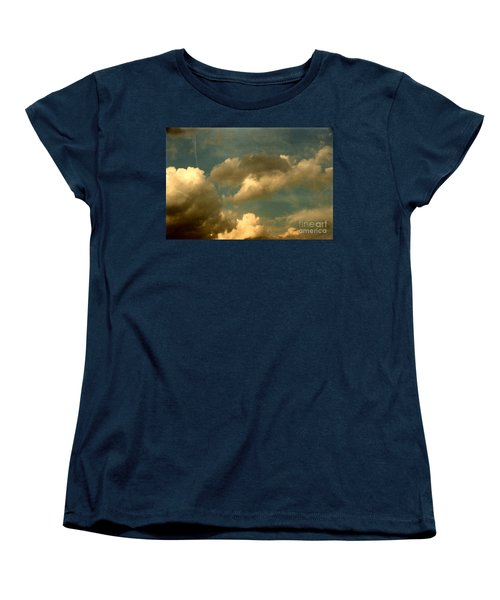 Clouds Of Yesterday Women's T-Shirt (Standard Cut) by Anita Lewis