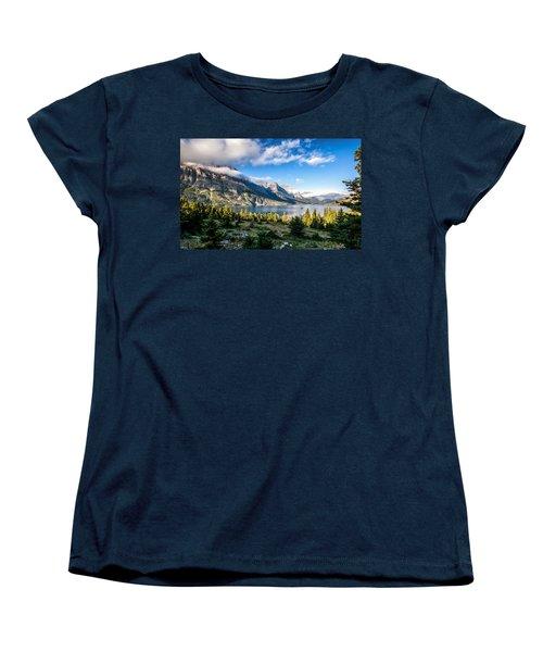 Clouds Roll In Women's T-Shirt (Standard Cut) by Aaron Aldrich