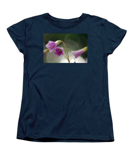 Women's T-Shirt (Standard Cut) featuring the photograph Clover Bells by Greg Allore
