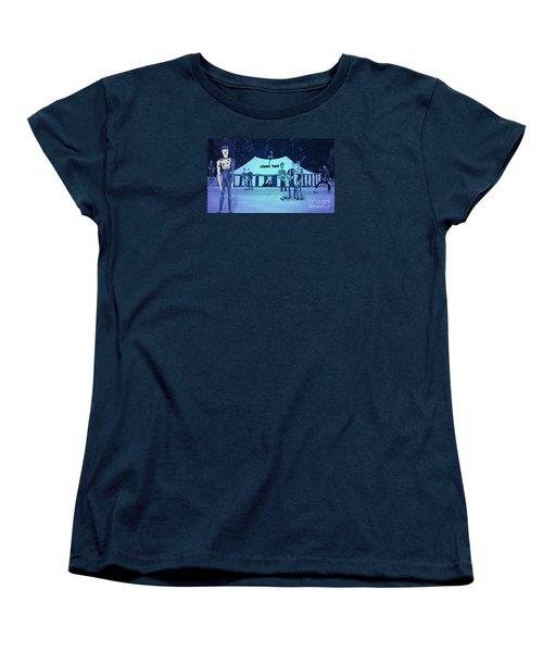 Women's T-Shirt (Standard Cut) featuring the photograph Clown Tent by Nareeta Martin