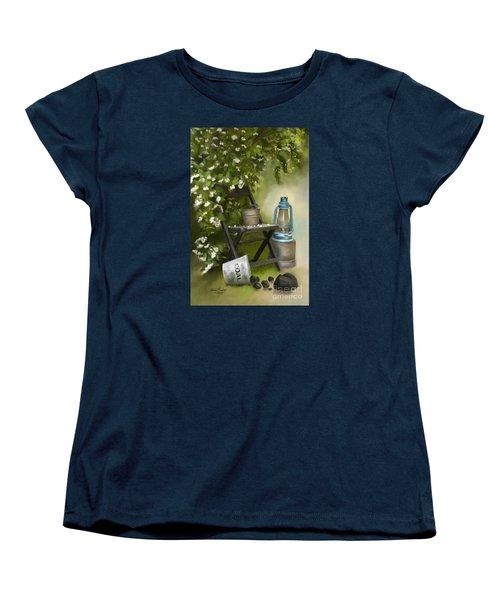 Coal Women's T-Shirt (Standard Cut) by Lena Auxier