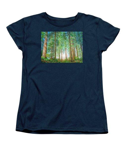 Coastal Redwoods Women's T-Shirt (Standard Cut)