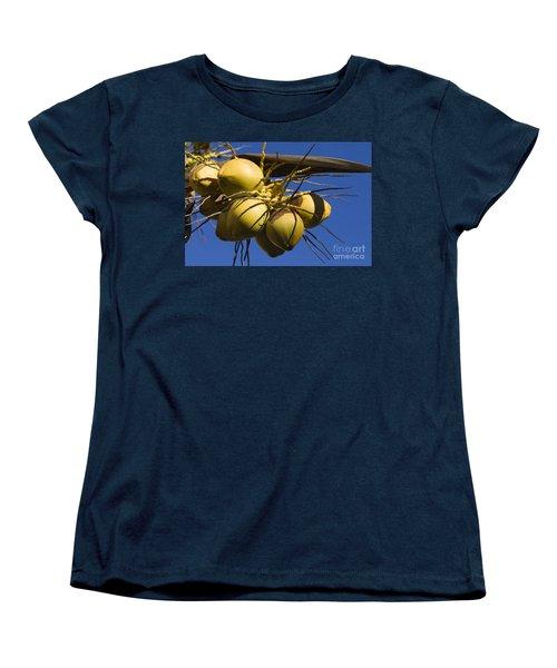 Women's T-Shirt (Standard Cut) featuring the photograph Coconut 1 by Teresa Zieba