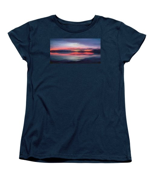 Cold Bay Women's T-Shirt (Standard Cut) by Michael Pickett