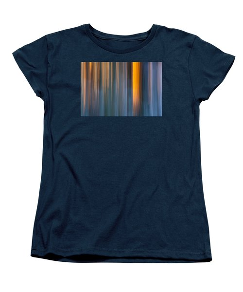 Women's T-Shirt (Standard Cut) featuring the photograph Cold Shadows by Davorin Mance