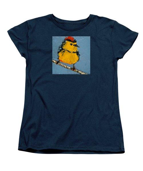 Collard Redstart Women's T-Shirt (Standard Cut) by Jani Freimann