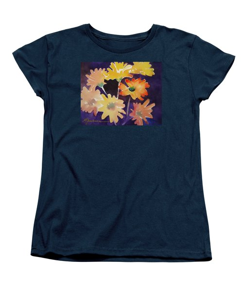 Women's T-Shirt (Standard Cut) featuring the painting Color And Whimsy by Marilyn Jacobson