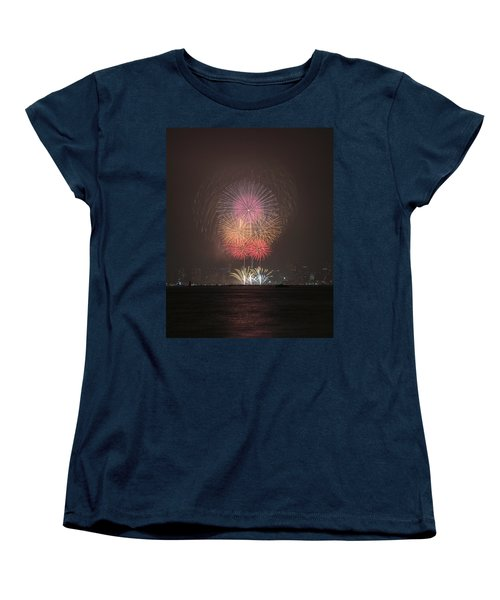 Colored Skies Women's T-Shirt (Standard Cut) by John Swartz