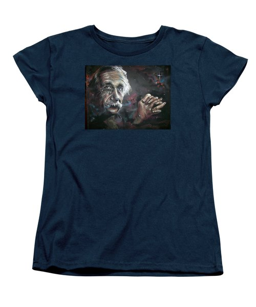 Color My Universe Women's T-Shirt (Standard Cut) by Peter Suhocke