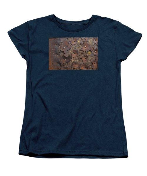 Color Of Steel 2 Women's T-Shirt (Standard Cut) by Fran Riley