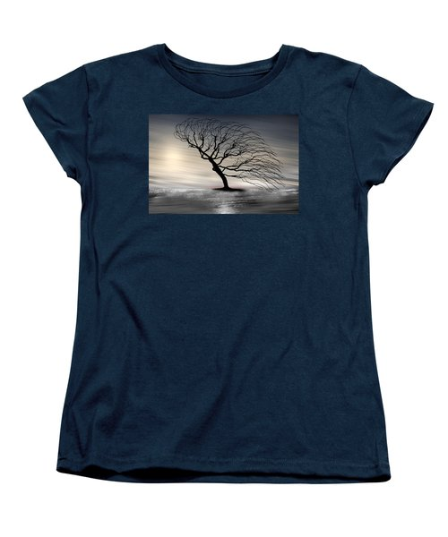 Color Of The Wind Women's T-Shirt (Standard Cut) by Gray  Artus
