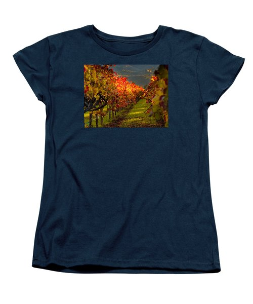 Color On The Vine Women's T-Shirt (Standard Cut) by Bill Gallagher