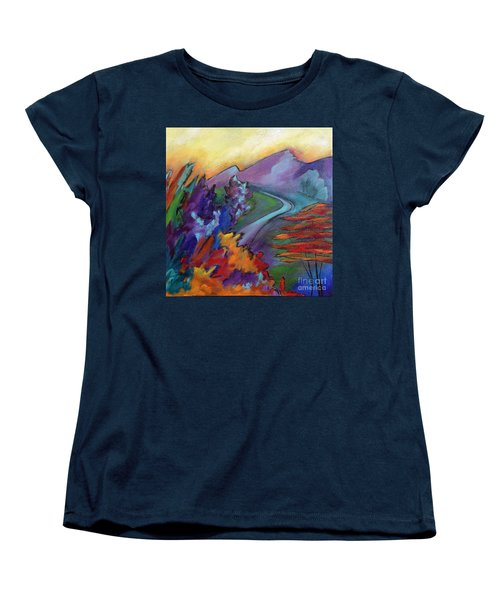 Colordance Women's T-Shirt (Standard Cut) by Elizabeth Fontaine-Barr