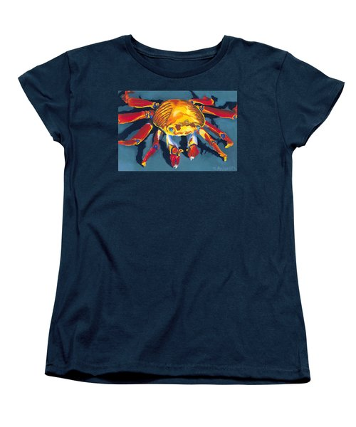 Colorful Crab Women's T-Shirt (Standard Cut) by Stephen Anderson