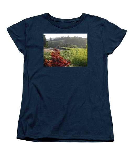 Colors Of Cali Women's T-Shirt (Standard Cut) by Shawn Marlow