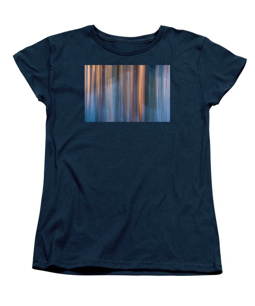 Women's T-Shirt (Standard Cut) featuring the photograph Colors Of Dusk by Davorin Mance