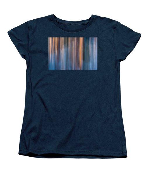 Colors Of Dusk Women's T-Shirt (Standard Cut) by Davorin Mance