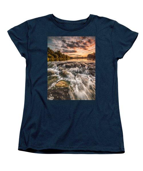 Colors Of Summer Women's T-Shirt (Standard Cut) by Davorin Mance