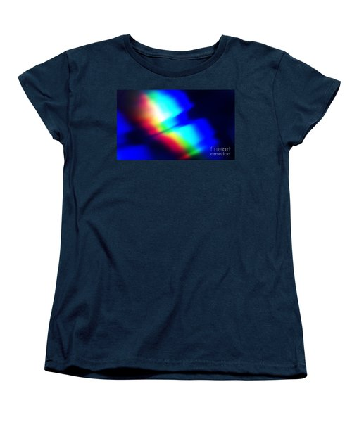 Women's T-Shirt (Standard Cut) featuring the photograph Coloured Light by Martin Howard