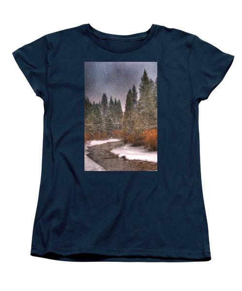 Colours Of Winter Women's T-Shirt (Standard Cut) by Juli Scalzi