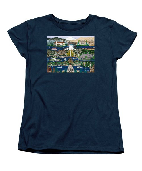Columbia River Gorge Women's T-Shirt (Standard Cut)