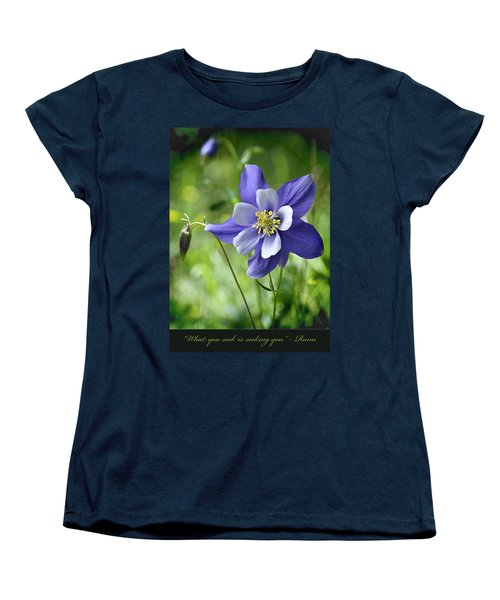 Columbine Card  Women's T-Shirt (Standard Cut)