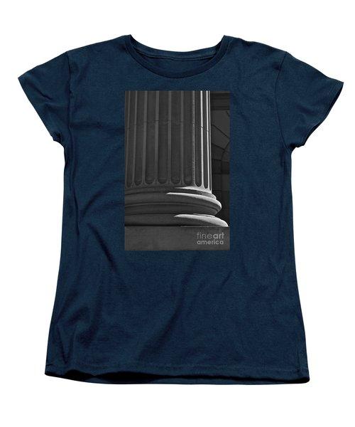 Column 2 Women's T-Shirt (Standard Cut) by Linda Bianic