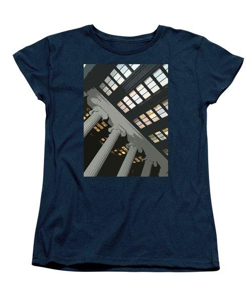 Columns Women's T-Shirt (Standard Cut) by Julio Lopez