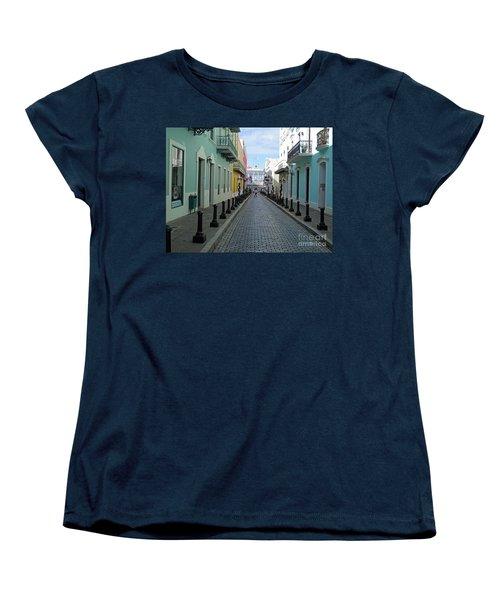 Women's T-Shirt (Standard Cut) featuring the photograph San Juan Puerto Rico by Roberta Byram