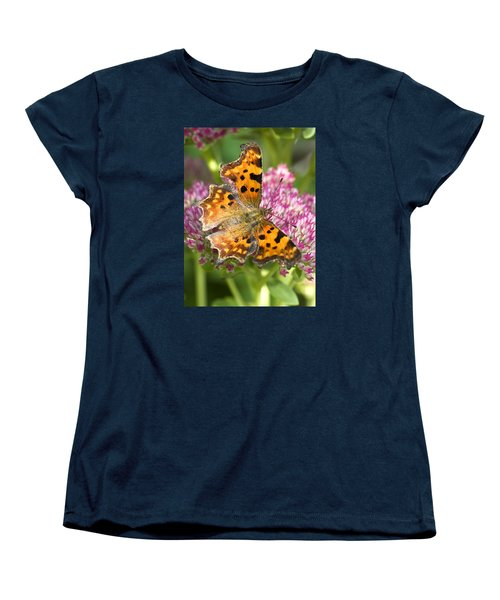 Comma Butterfly Women's T-Shirt (Standard Cut) by Richard Thomas