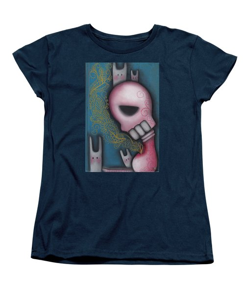 Companions Women's T-Shirt (Standard Cut) by Abril Andrade Griffith
