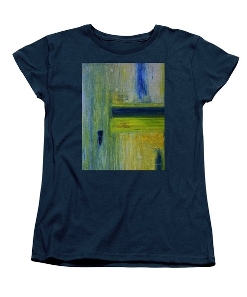 Contact Women's T-Shirt (Standard Cut) by Dick Bourgault