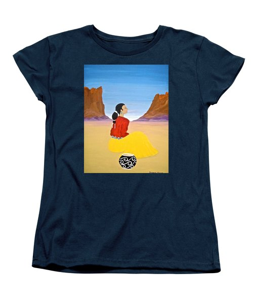 Contemplation Women's T-Shirt (Standard Cut) by Stephanie Moore