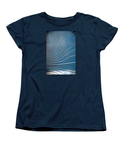 Women's T-Shirt (Standard Cut) featuring the photograph Contours 1 by Wendy Wilton