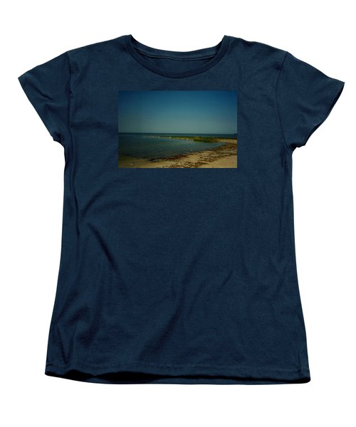 Cool Day For A Swim Women's T-Shirt (Standard Cut) by Amazing Photographs AKA Christian Wilson