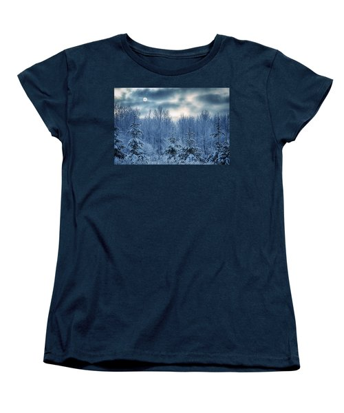 Cool Sunrise Women's T-Shirt (Standard Cut) by Joan Carroll