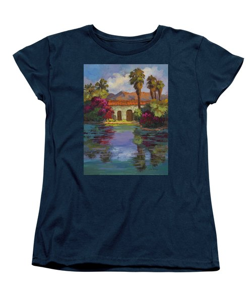 Cool Waters 2 Women's T-Shirt (Standard Cut) by Diane McClary