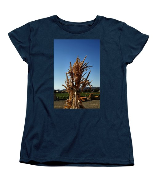 Women's T-Shirt (Standard Cut) featuring the photograph Corn Top by Michael Gordon